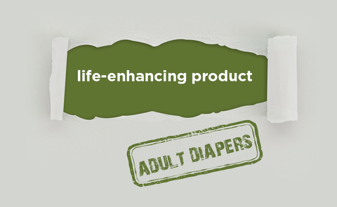 Diapers are a life-enhancing product