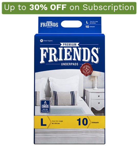 Friends Premium Underpads - friendsdiaper