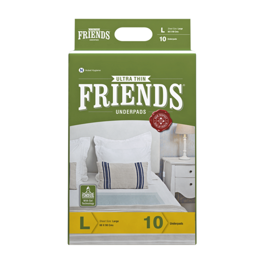 Buy Friends Premium Diaper Pants + Classic Underpads Combo Pack