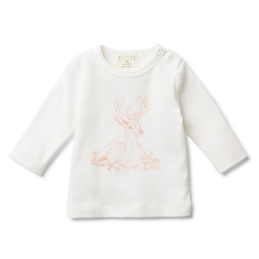 Little dear long sleeve top