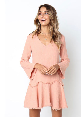 Gabriella Dress - Blush