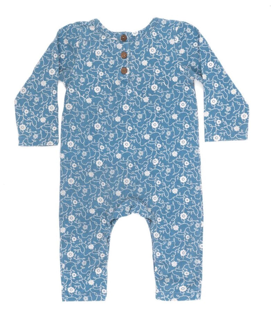 Flower Vine Full Onesie