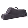 Baritone Saxophone Shaped Case (with wheels) Greenline
