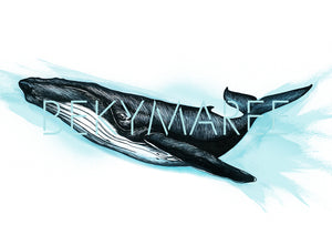 HENRY The Humpback Whale ~ Digital Artwork - Bekymaree