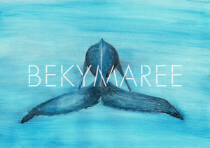 WILLOW The Whale ~ Digital Artwork - Bekymaree