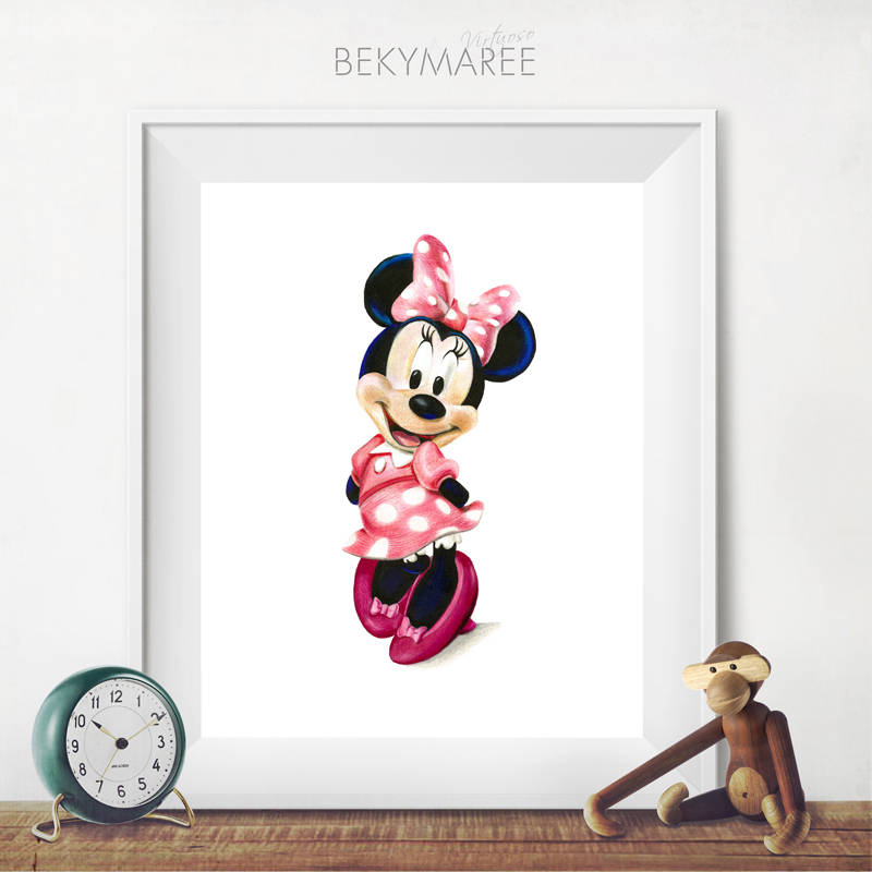 Minnie Mouse Print - Bekymaree