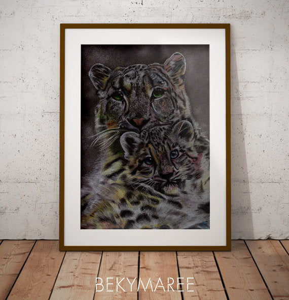 Snow Leopard #2 - Bekymaree