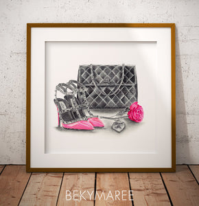 Retail Therapy Print - Bekymaree