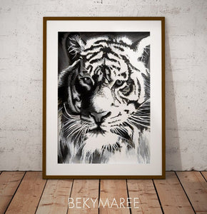 Original Tiger Painting
