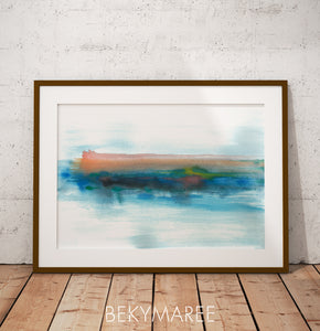 Watercolour Wall Art - Bekymaree