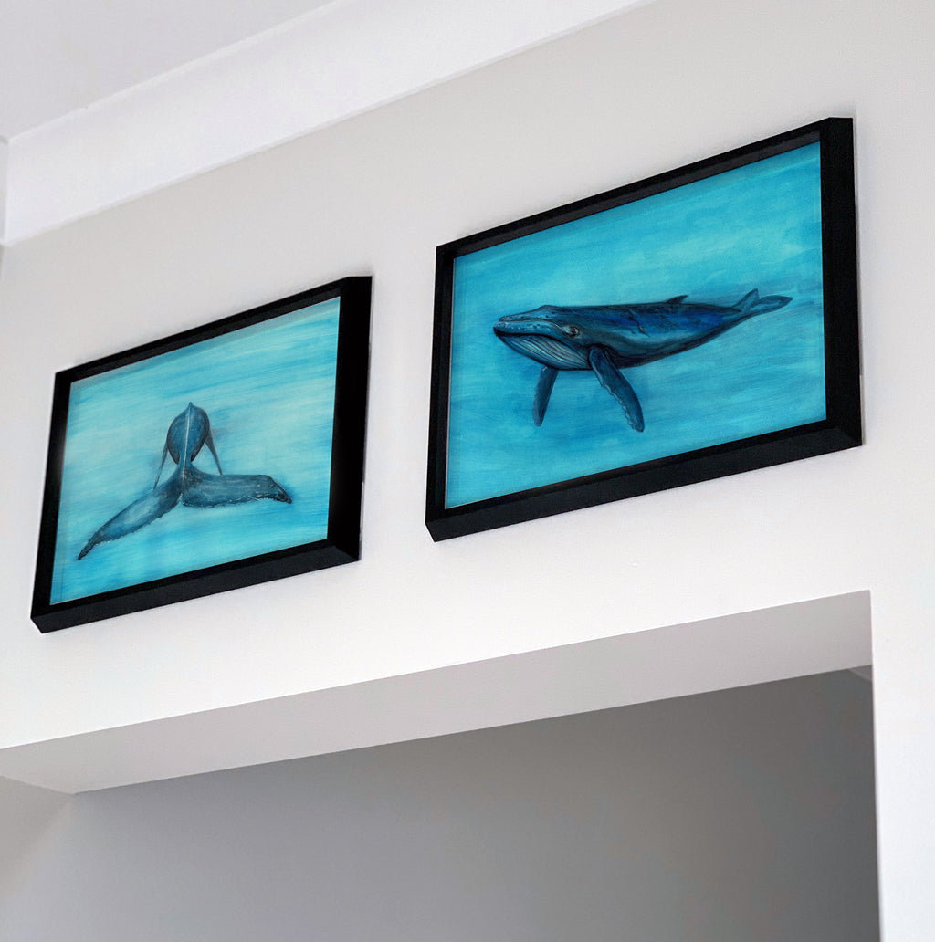 WHALE BUNDLE ~ 3 Paintings - Bekymaree