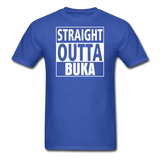 MFD Straight Outta Buka Tee - royal blue