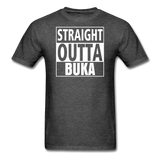 MFD Straight Outta Buka Tee - heather black