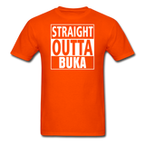MFD Straight Outta Buka Tee - orange