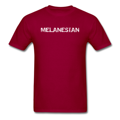 MFD Melanesian Tee - dark red