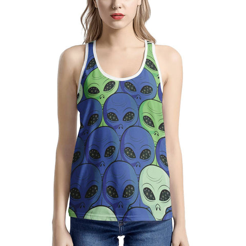 Spaced Out - Women's I-shaped Tank