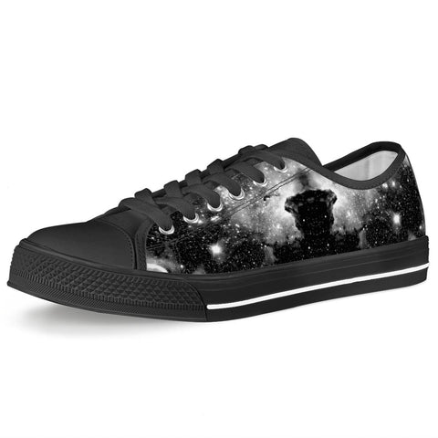 ET Blackout - Black Low Top Canvas Shoes