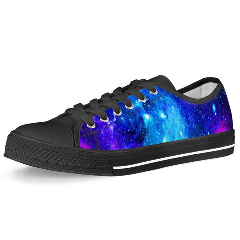Icy Way - Black Low Top Canvas Shoes