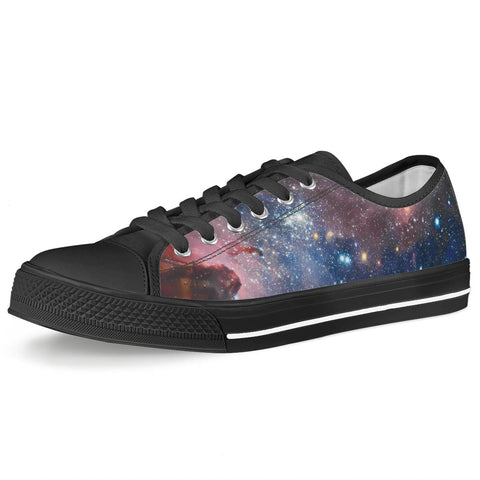 Light Year - Black Low Top Canvas Shoes