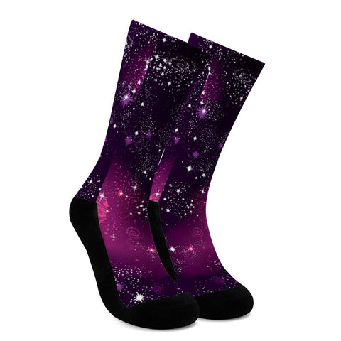 Cosmic Sparkle - Crew Socks