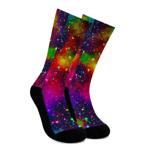 Acid Rainbow - Crew Socks