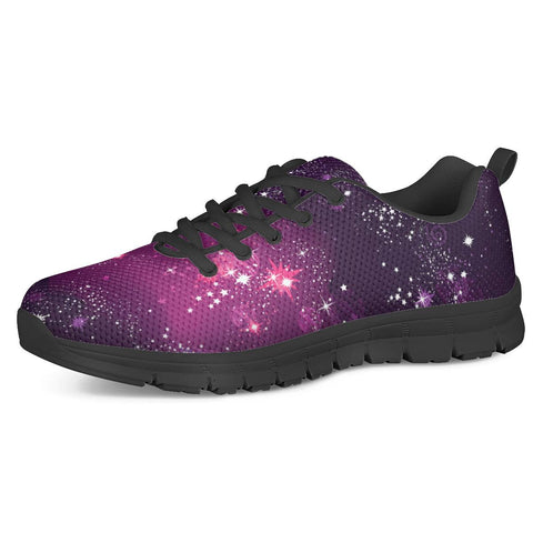 Cosmic Sparkle - Black Running Shoes