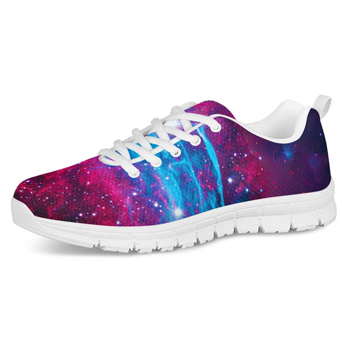 Deep Space - White Running Shoes
