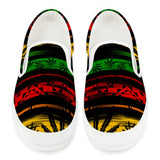 Rasta - White Slip On Shoes