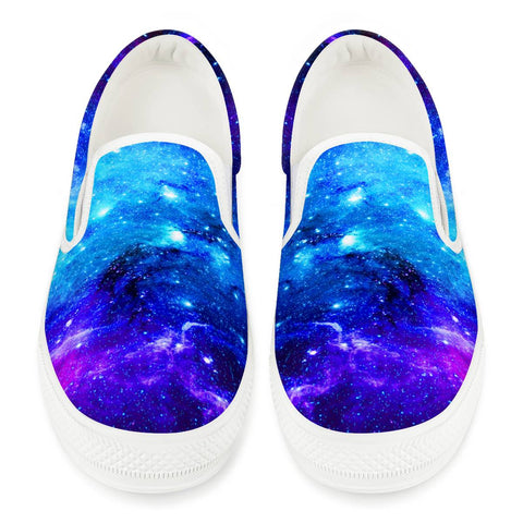 Icy Way - White Slip On Shoes