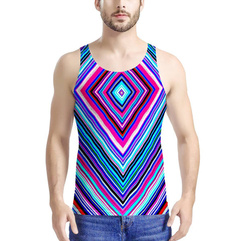 Illusions - Men's All Over Print Tank
