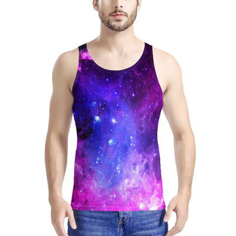 Pink Galaxy - Men's All Over Print Tank