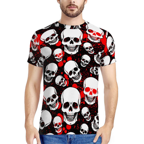 skull New Men's All Over Print T-shirt