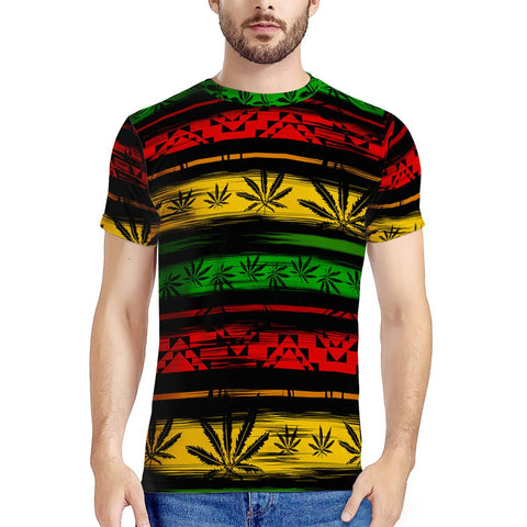 Rasta - New Men's All Over Print T-shirt