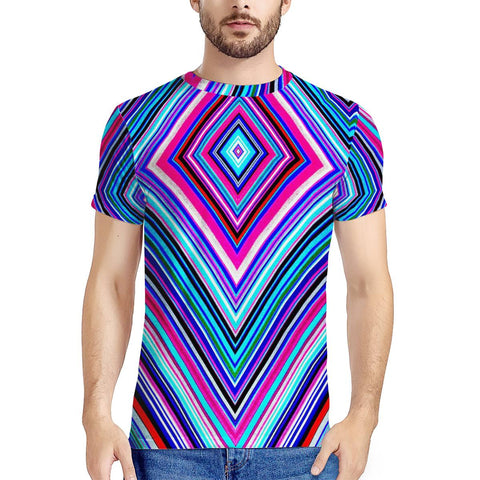 Illusions - New Men's All Over Print T-shirt