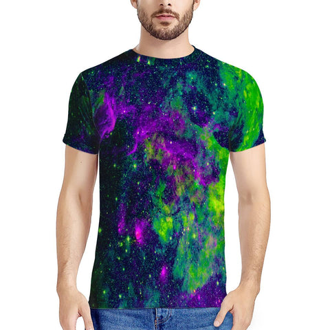 Green Galaxy - New Men's All Over Print T-shirt