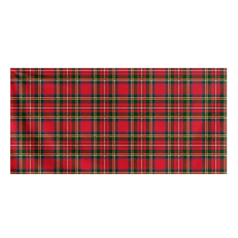 Red Plaid - Bath Towel