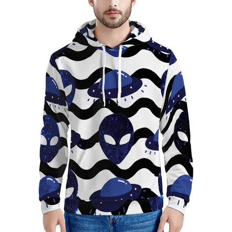 Outta Here - Men's All Over Print Hoodie