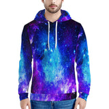 Icy Way - Men's All Over Print Hoodie