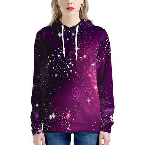 Cosmic Sparkle - Women's All Over Print Hoodie