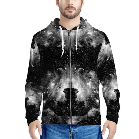 ET Blackout - Men's All Over Print Zip Hoodie