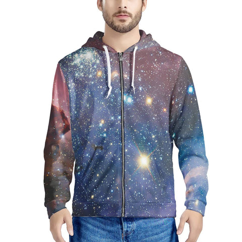 Light Year - Men's All Over Print Zip Hoodie