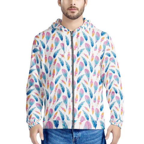 Fly Away - Men's All Over Print Zip Hoodie