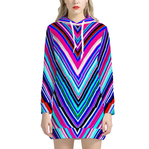 Illusions - Women's Hoodie Dress