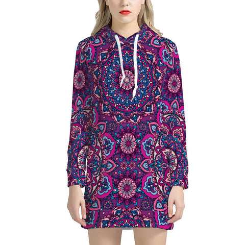 Garden Goddess - Women's Hoodie Dress