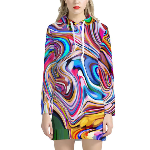 Lucid Dream - Women's Hoodie Dress