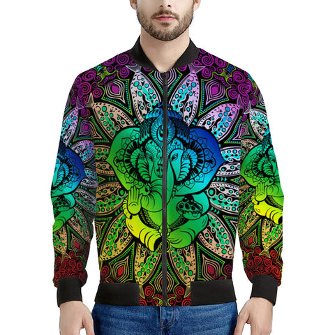 Ganesh - Men's Bomber Jacket
