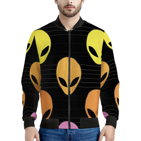 Alien Invasion - Men's Bomber Jacket