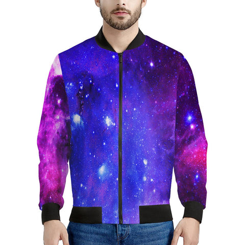 Pink Galaxy - Men's Bomber Jacket