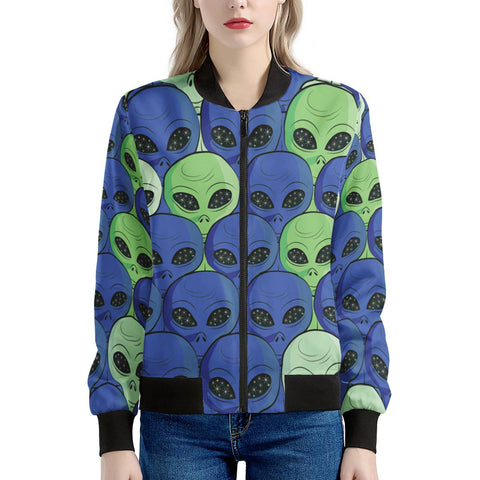 Spaced Out - Women's Bomber Jacket