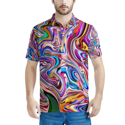 Lucid Dream - Men's All Over Print Polo Shirt
